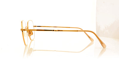 Mr. Leight Shi 18KRG/BLSM Rose Gold Glasses