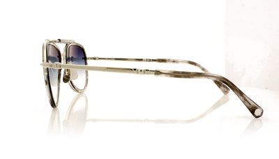 Mr. Leight Doheny SL PLT-CW/ALP Platinum-Coldwater Sunglasses at OCO