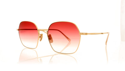 Mr. Leight Shi S 18KRG-BLSM/CBLSMGRD Rose Gold-Blossom Sunglasses at OCO