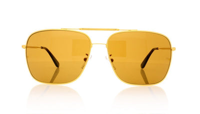 Oliver Goldsmith Wise Guy 4 Gold Sunglasses at OCO