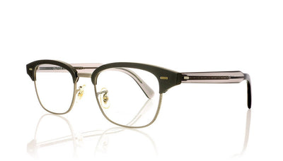 Oliver Peoples Shulman OV1177 5228 Brshd Gn Metl Glasses at OCO