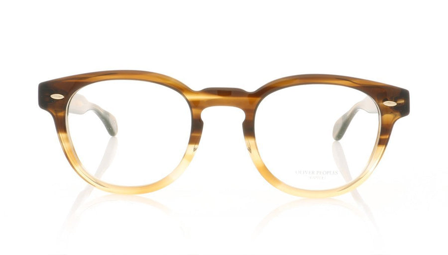 1acfe8b14c Oliver Peoples Sheldrake OV5036 1373 Brown Textured Tort Grad Glasses