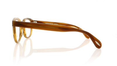 Oliver Peoples Sheldrake OV5036 1579 Semi Matte Raintree Glasses at OCO