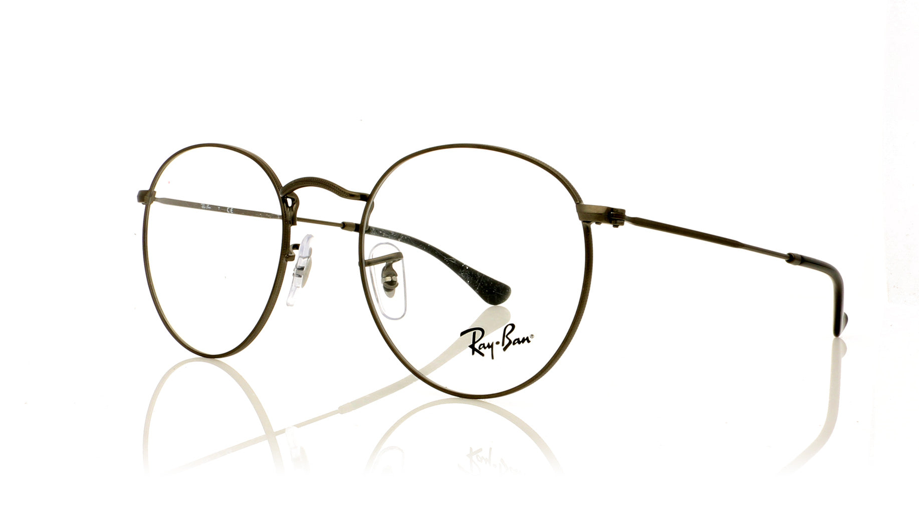 ... discount code for ray ban round metal rx3447v 2620 matte gunmetal  glasses at oco 4d43c c8777 87f44351331b