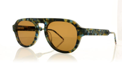 Thom Browne TBS416 TBS416-52-02 NVY Navy Tortoise w Sunglasses at OCO