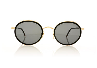 Thom Browne TBS813 TBS813-49-01 BLK-GLD Black Sunglasses