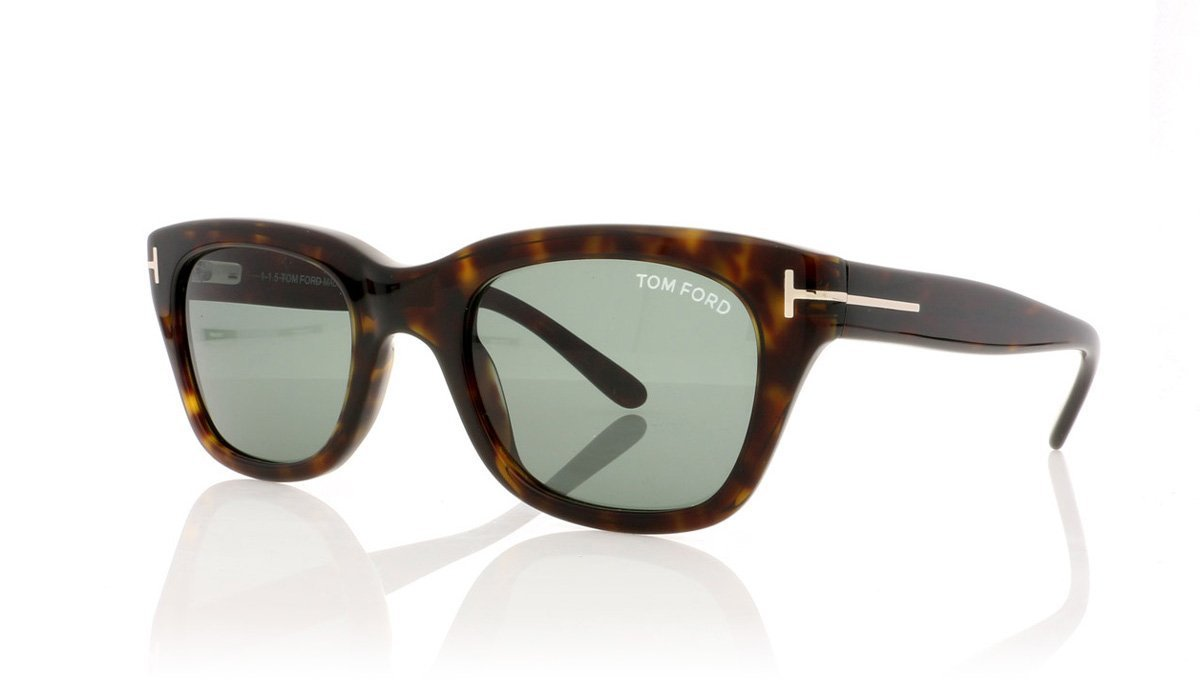 97651cc43d3c Tom Ford Snowdon TF237 52N Dark Havana Sunglasses at OCO
