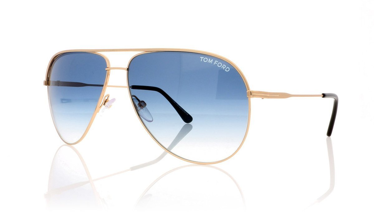 29d30d8b621933 Tom Ford Erin TF466 29P Matte Rose Gold Sunglasses at OCO