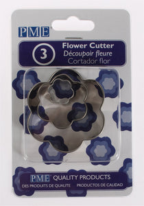 PME Flower Cutters 3 piece