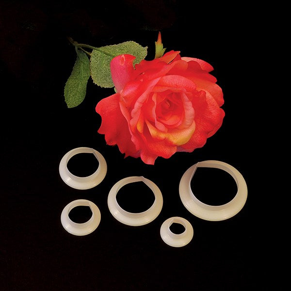 FMM 5 Set Rose Petal Cutter