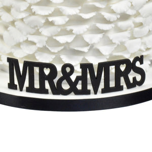 FMM 'Mr & Mrs' Large Cutter - Curved Words