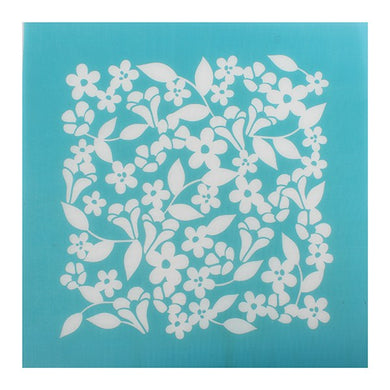 House of Cake Mesh Stencil Floral