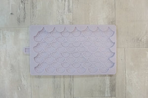Karen Davies Mermaid Scales Mould