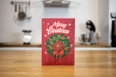 Gingerbread Mug Cake Christmas Card