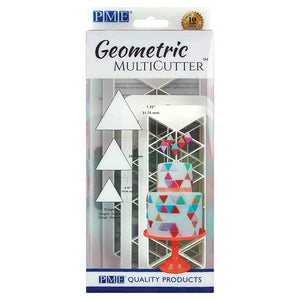PME Geometric Multi Cutter - Equilateral Triangle - 3 Set