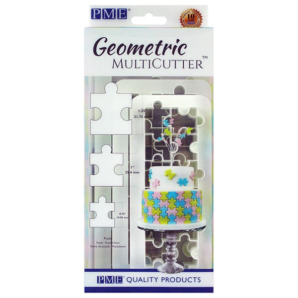 PME Geometric Multi Cutter - Puzzle - Set of 3