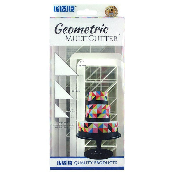 PME Geometric Multi Cutter- Right Angle - Set of 3