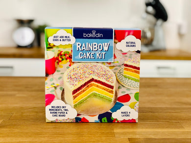 Rainbow Cake Baking Kit
