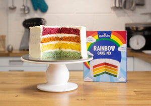 Rainbow Cake Baking Mix - BakedIn