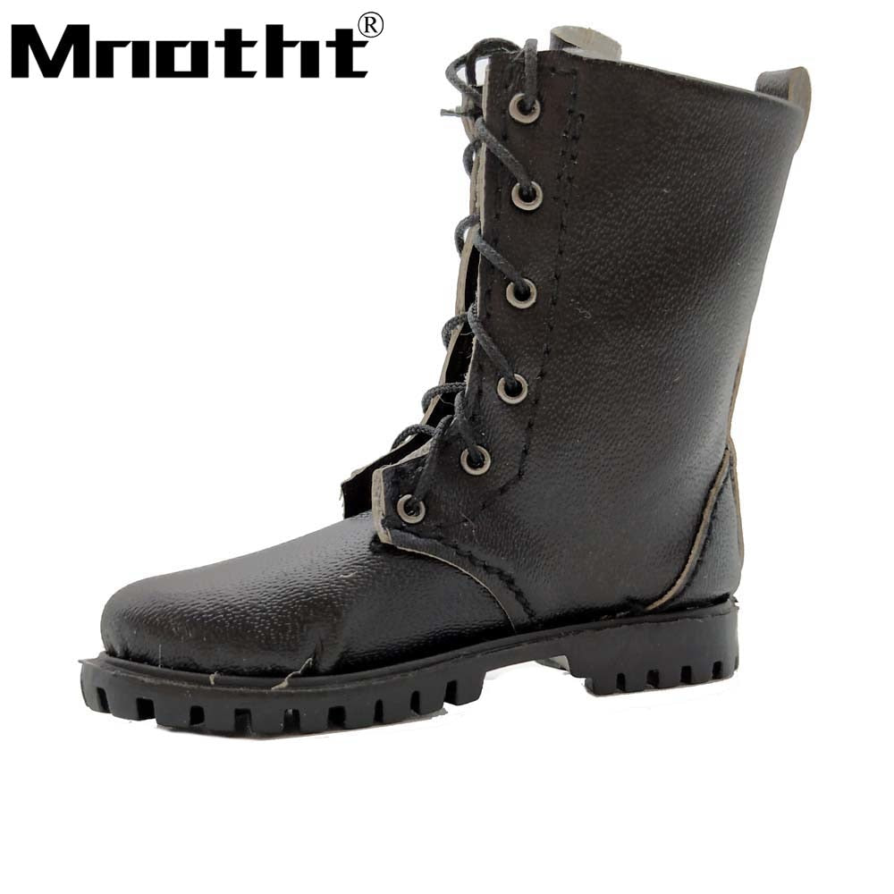free shipping 1413d 338a7 Men Shoes Soldier Shoes Leather Army Combat Boots Hand Made Shoes