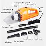 120W Portable car vacuum cleaner 12V/24V Wet And Dry Filter - inaaz.biz