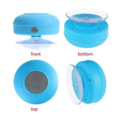 Suction-Cup Bluetooth Speakers