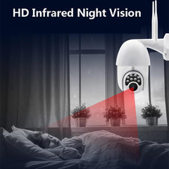 Wifi HD 1080P IP Camera 8 LEDS Infrared 6x Zoom Full-Color Night Vision Surveillance Waterproof PTZ Rotation  IP Camera