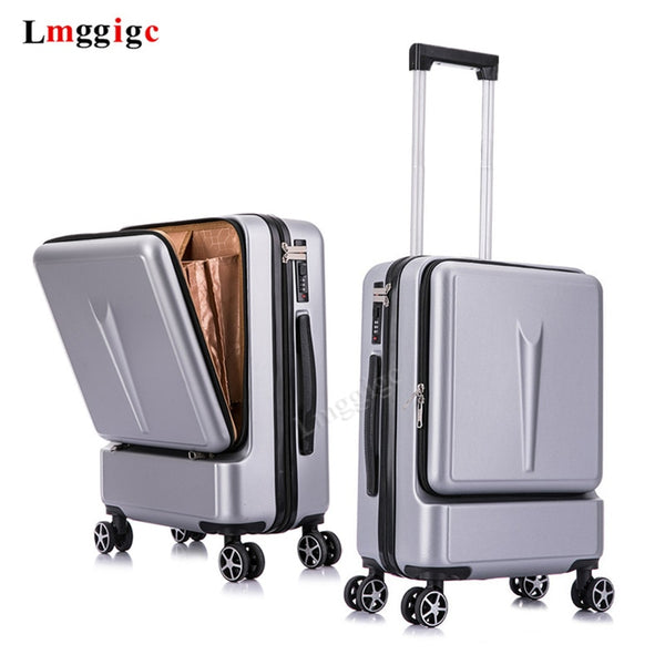 Rolling Luggage Bag Travel Suitcase  with Laptop Bag  Universal wheel Trolley PC Box