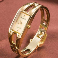2019 Fashion brand women fashion luxury ladies gold stainless steel watch women Dress Quartz bracelet Watch relogios femininos
