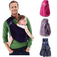 2017 Most Popular BabaSling Baby Carrier/Baby Sling/Baby Backpack Carrier/High Quality Organic Cotton + Sponge Baby Suspenders - inaaz.biz