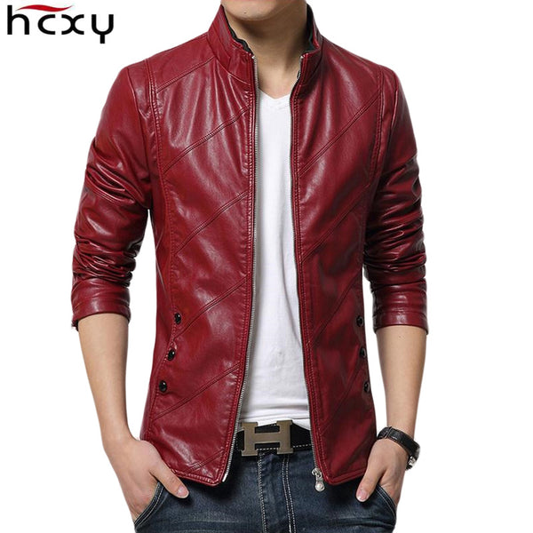 2017 Motorcycle Leather Jackets Men Autumn Winter Leather Clothing Men Leather Jacket Male Business Upscale casual Coats - inaaz.biz
