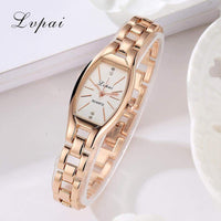2017 New Lvpai Brand Luxury Rose Gold Quartz-Watches Women Fashion Bracelet Watch Ladies Simple Dress Business Wristwatch LP104 - inaaz.biz