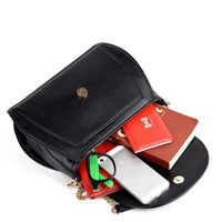 New Summer  PU Leather Handbag Women Messenger Crossbody Small Bag - inaaz.biz