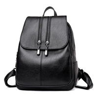 2019 Brand  Laptop Backpack Women Leather Luxury Backpack Women Fashion Backpack Satchel School Bag Pu