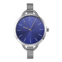 2018 CMK Luxury European Style Ladies Watches Stainless Steel Elegant Big Dial Women Watch Casual Dress Female wristwatch clock - inaaz.biz