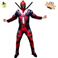 Men  Dress 2019 Halloween Party Costumes Role Play Thor American Captain Deadpool Black Panther Dress