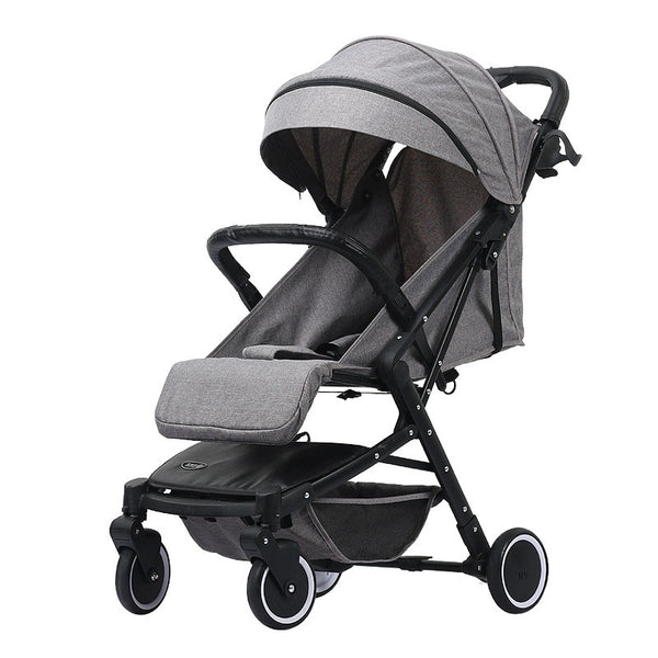 Baby stroller ultralight baby carriages 2 in 1 Can sit and lie down pushchair pram - inaaz.biz