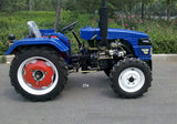2018 new style 4 wheel drive tractor customizable multifunctional 4WD 25hp tractor mini farm tractor with good price