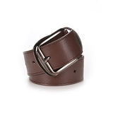 Women Belt Designer Faux Leather Metal Buckle Straps