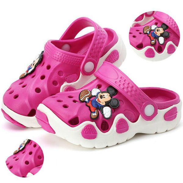 Children Cartoon Cave Shoes, Boys Girls Summer Children Slippers, Antiskid Soft Bottom Shoes