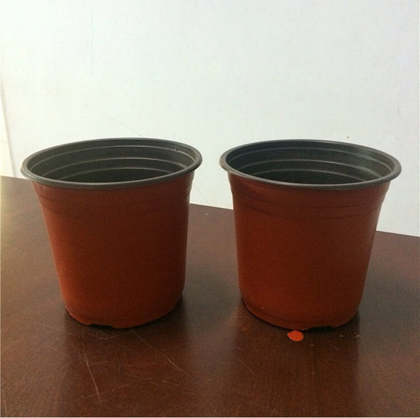210*150*185mm 210# Nursery Pots Seedlings Nursery Pots 50PCS Plastic Flowers Plants pot