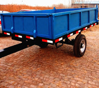2Ton 3Ton 5Ton 2 wheels trailer and 4 wheels farm trailer tractor Tipping trailer for sale