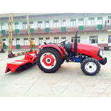 55hp Hot Overseas customizable multifunctional Chinese 4 wheel drive 55hp tractor farm tractor with cheap price