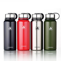 600/800/1100/1500ml Thermal bottle With Tea leaks Vacuum Flask Heat Water Tea Mug Thermos Insulated Stainless Steel Travel Cup