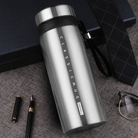 650ml/900m Thermos Hot Water Bottle Stainless Steel Vacuum Flasks Office Portable Car Tea Coffee Mug Thermal Insulation Bottles - inaaz.biz