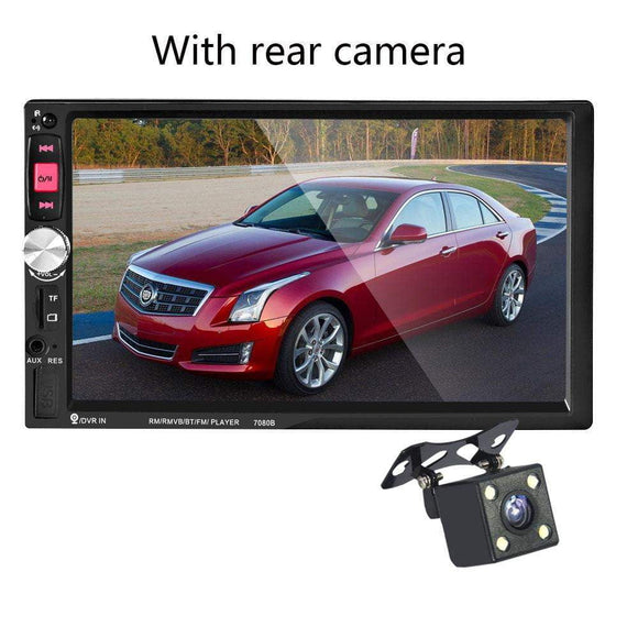 7 Inch Touch Screen 7080B 2 Din Car MP5 Player Auto Car MP4 Video Player Radio Remote Control With Rear View Camera