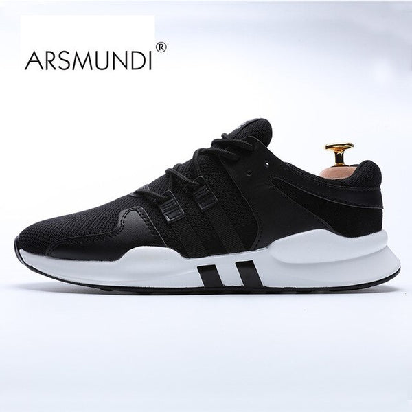 Men Sneaker ARSMUNDI Original Running Shoes New Air Mesh Breathable Light Mesh Sports Shoes