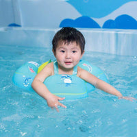 Baby Swimming Ring Inflatable Infant Armpit Floating Kids Swim Pool Accessories Circle Bathing Inflatable Double Raft Rings Toy - inaaz.biz