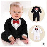 Baby boy suit The latest version of the gentleman ha garments Romper Spring climb clothes Infant Toddle Baby jumpsuit clothing - inaaz.biz