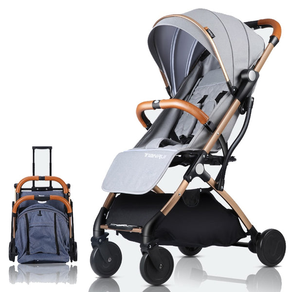 Baby carriage stroller lightweight Portable traveling stroller baby stroller Can be on the plane - inaaz.biz